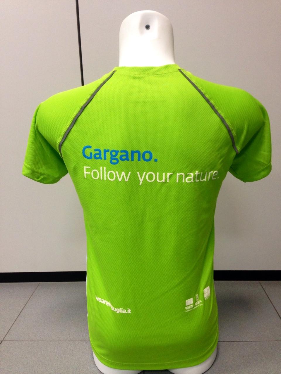 Gargano Tshirt Back