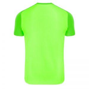 maglia tecnica runnek edel verde fluo