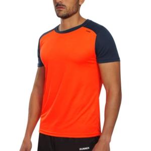 Maglia tecnica runnek limit arancione fluo