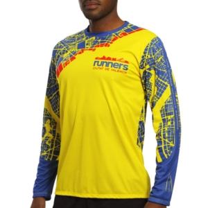 maglia atletica manica lunga