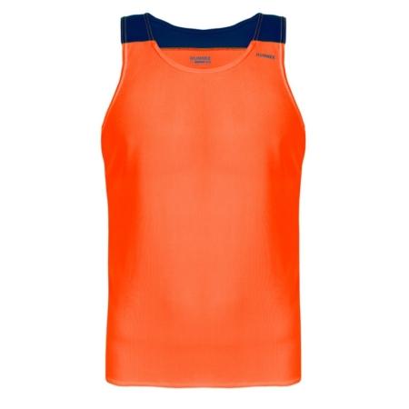 Canotta tecnica runnek vest arancione fluo