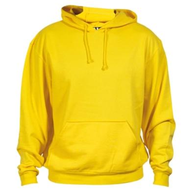 Felpa cotone gialla