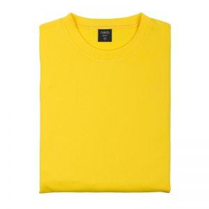 Felpa tecnica gialla