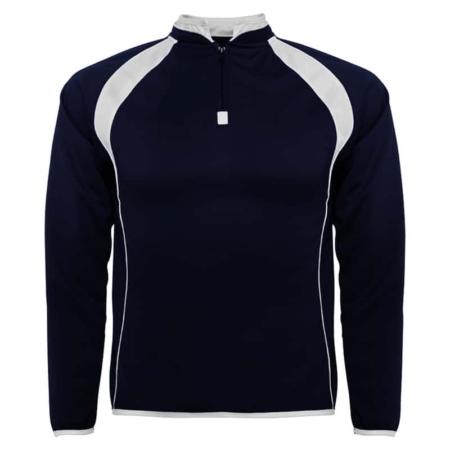 Felpa tecnica sport blu navy