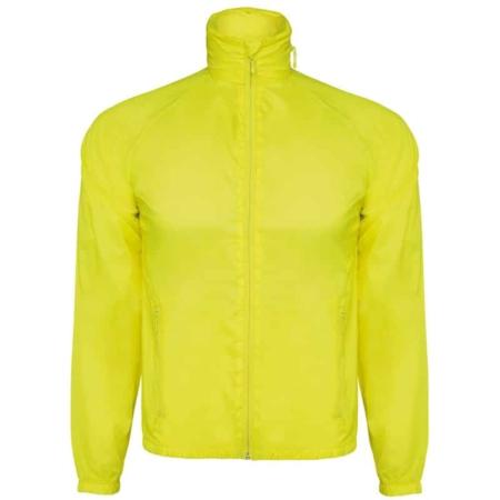 giacca tecnica gialla