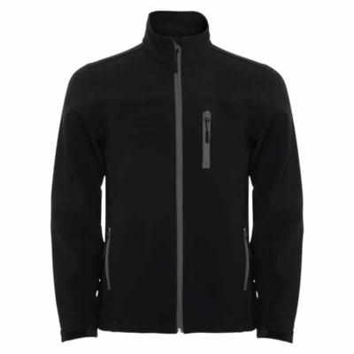 giacca soft shell nera