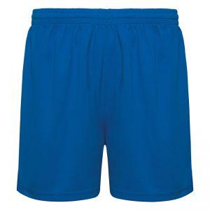 pantaloncino running blu
