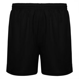 pantaloncino running nero