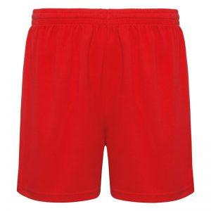 pantaloncino running rosso