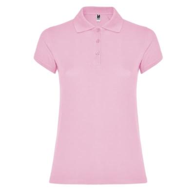 polo cotone donna rosa