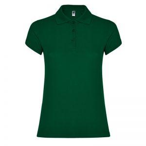 polo cotone donna verde