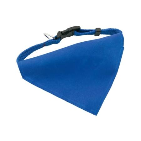bandana collare pet azzurra