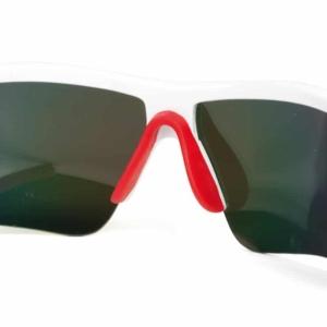 dettagli occhiali runner