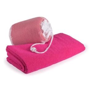 dettagli asciugamano in microfibra