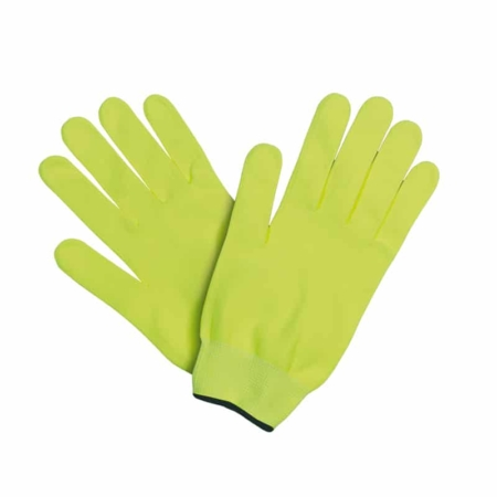 guanti running pistacchio