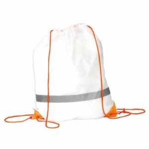 sacca zainetto pacco gara arancione