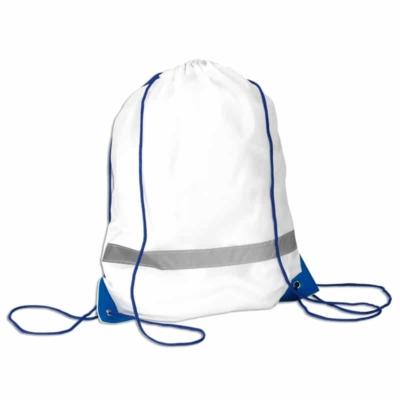 sacca zainetto pacco gara azzurro