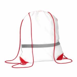 sacca zainetto pacco gara rosso