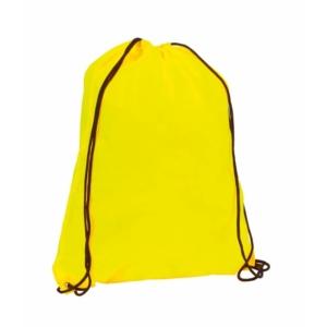 zaino sacca fluo gialla