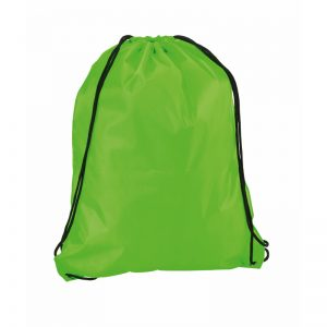 zaino sacca fluo verde