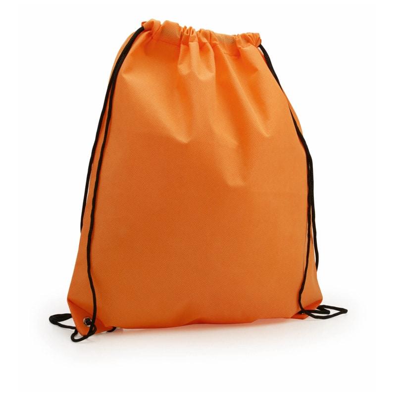 zaino sacca non tessuto arancione