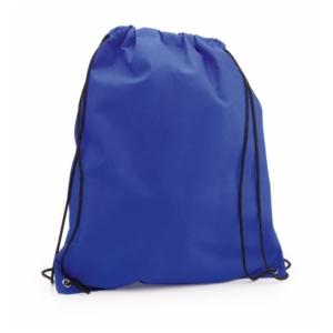 zaino sacca non tessuto azzurro
