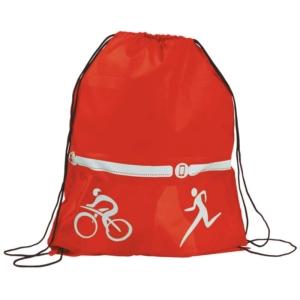 zaino triathlon rosso