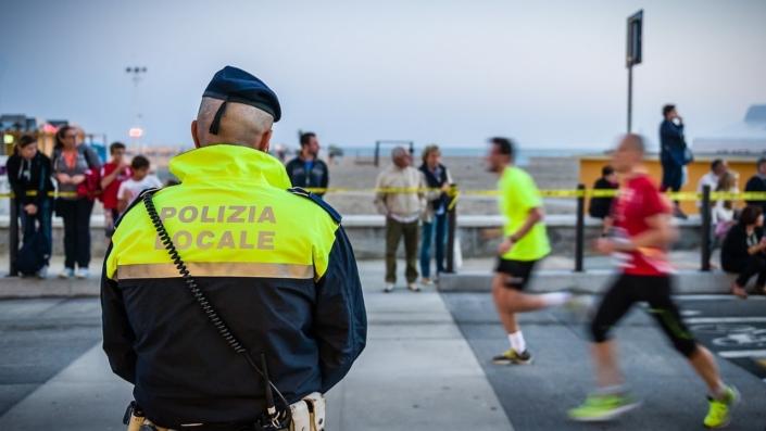 Sicurezza durante la gara